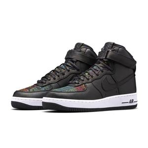 New Nike Air Force 1 High BHM QS